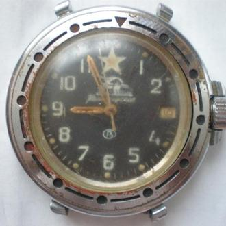часы Восток командирские рабочий баланс 230210