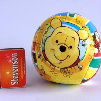 Мячик набивной мягкий Винни Пух от Диснея, для детей от 1 года