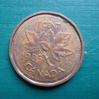 Канада 1 цент 1985
