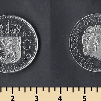 Нидерланды 1 гульден 1980