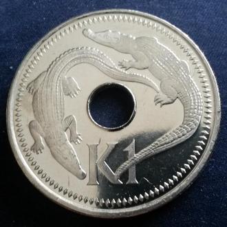 Папуа Новая Гвинея 1 кина 2004