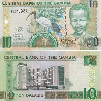 Gambia Гамбия - 10 Dalasis 2013 UNC JavirNV
