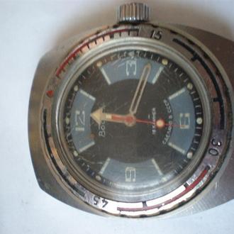 часы Восток амфибия секторные СССР идут 27034