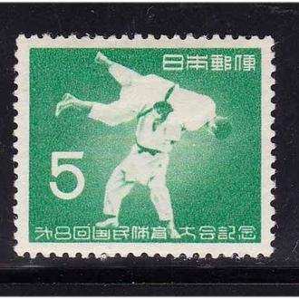 Япония  1953 г  MNH - полная серия - 2а скана
