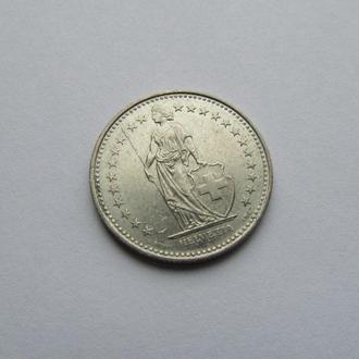 1,2 франка Швейцария 1993
