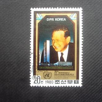 КНДР 1980г.гаш.