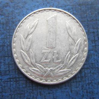 монета 1 злотый Польша 1978