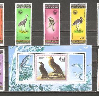 Фауна  Монголия 1985г. MNH