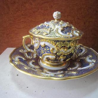 ЕВРОПА. LOKET. ELBOGEN (1833-1873).ЧАЙНАЯ ПАРА.   ЧАЙНАЯ ЧАШКА  - 1837 Г