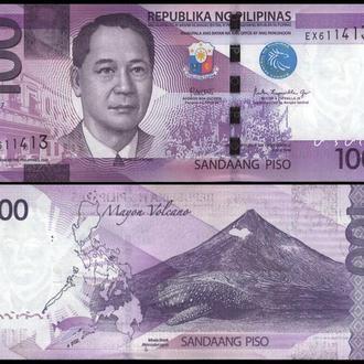 ФИЛИППИНЫ 100 писо 2017г. UNC