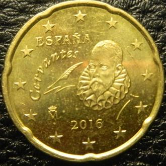 20 євроцентів 2016 Іспанія
