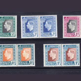 GB ЮАР / RSA  1937 г MLH