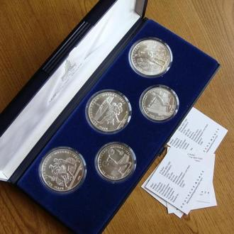 5 и 10 рублей Олимпиада 80