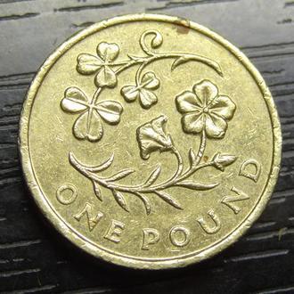 1 фунт 2014 Британія Флора Північної Ірландії