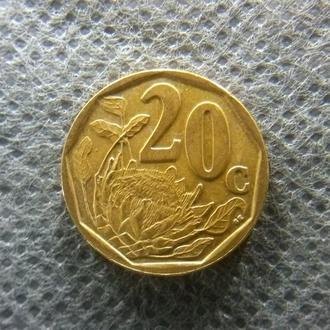 20 центов ЮАР 2006