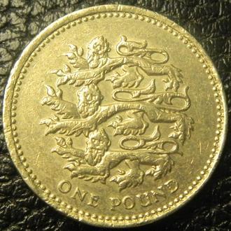1 фунт 2002 Британія
