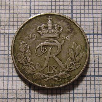 Дания, 10 эре 1954