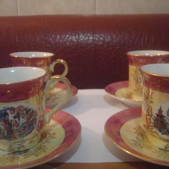 Чашки кофейные ГДР (японская сакура)