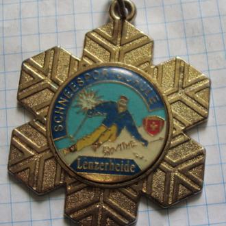 Медаль Швейцарской школы зимних видов спорта Ленцерхайде - тяж
