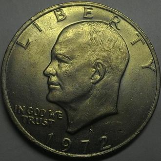 США 1 доллар 1972 год  ОТЛИЧНОЕ СОСТОЯНИЕ!!!!!!