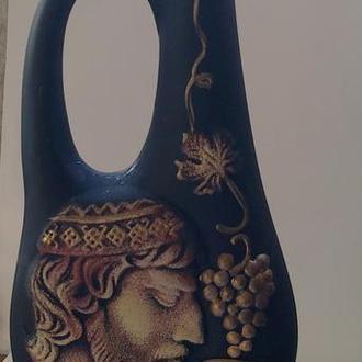 Бутылка керамика с рисунком