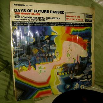 THE MOODY BLUES  DAYS OF FUTURE PASSED  1967   DERAM London US    ~ NM / VG ++
