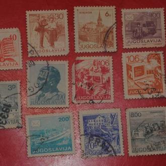 марки Югославия