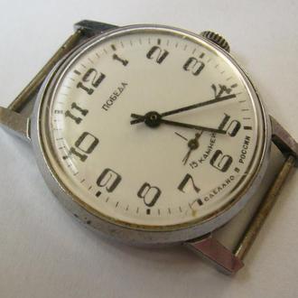 Часы механические Победа