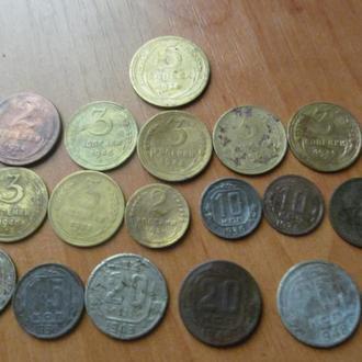 5 коп. 1926 р.+17 монет до реформи рiзних рокiв