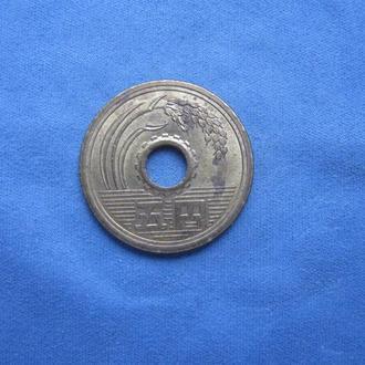 Япония 5 иен 2002 год