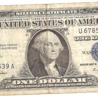 1 Доллар / 1 Dollar (USA) (1957)
