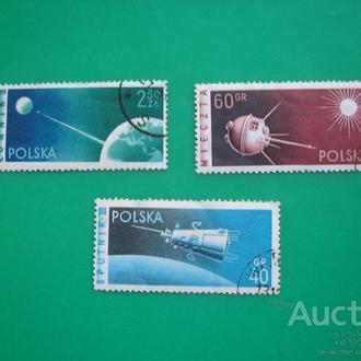 Польша 1959 космос *