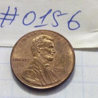 1 цент 2006 США.