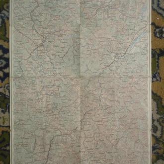 военная Карта Львовськой обл 1914-18 гг