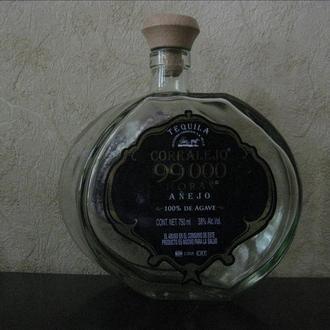 Бутылка в коллекцию или для интерьера № 9