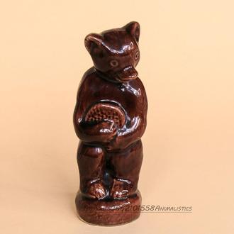 Статуэтка Медведь с сотами керамика СССР