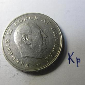 1 Крона Данія Дания 1963 рік Кр