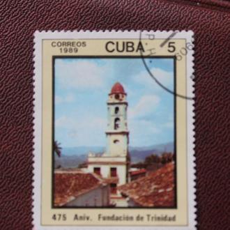 Куба. 1989г.  гаш..