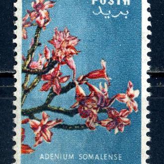 Сомали. Цветы** 1955 г.