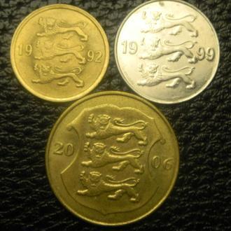 Монети Естонії