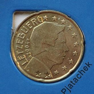 Люксембург 20 центов 20 евроцентов 2004 №2