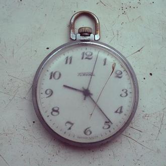 Карманные часы Ракета,бригет