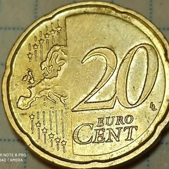 ГЕРМАНИЯ, 20 центов 2014 f