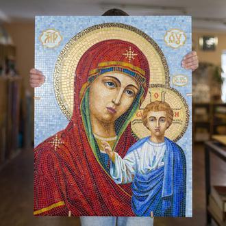 """Мозаика икона """"Пресвятой Богородицы Девы Марии"""""""