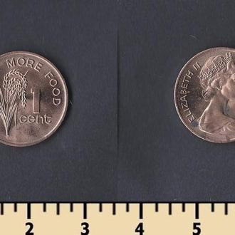ФИДЖИ 1 ЦЕНТ 1981