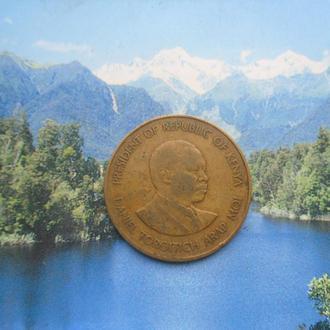 Кения 10 центов 1980 года