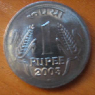 1 рупия Индия 2003 год
