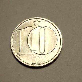 10 геллеров 1990 года Чехословакия !!! а2