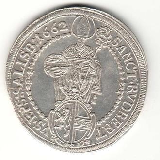 Талер 1662 р , Зальцбург