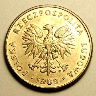 20 злотих 1989 года Польша - СОСТОЯНИЕ !!! - а2